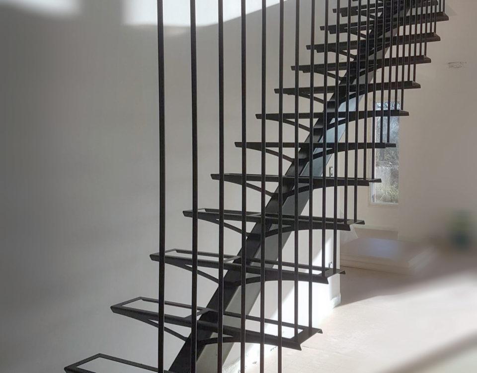 escalier unique sur mesure artisanal